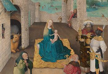De Aanbidding der Koningen, Jheronimus Bosch, ca. 1475, 71.1 x 56.5cm, The Metropolitan Museum of Art / John Stewart Kennedy Fund, New York.