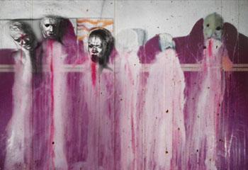 Beeld: David Lynch, Six Men Getting Sick, 1967, film still, eigen dom van ABSURDA.