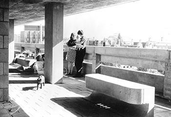 Studentenhuis Weesperstraat, Amsterdam (1959-1966). Herman Hertzberger, Tjakko Hazewinkel, Henk Dicke. © Herman Hertzberger