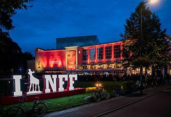 Uitreiking van de Gouden Kalveren in de Stadsschouwburg Utrecht in 2017. Beeld: NFF