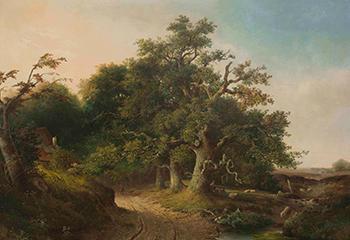 "Jacob Cremer, ""Wodanseiken te Wolfheze"" (1849), collectie Museum Arnhem. Foto: Peter Cox"