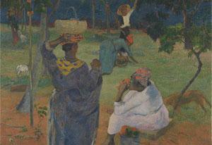 Paul Gauguin, 'De Mangobomen, Martinique' (1887). Beeld: Van Gogh Museum