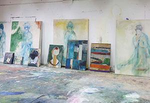 Atelierfoto Jasper Krabbé. Beeld: Peter Tijlhuis