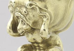 Adam van Vianen, 'Kan met deksel' (1614), verguld zilver. Beeld: met dank aan het Rijksmuseum.