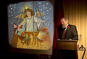 Dickens en de Kerstengel