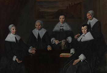 Frans Hals: Regentessen van het Oude Mannenhuis. Foto: René Gerritsen