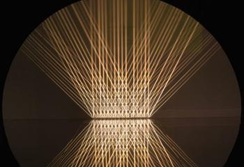 Julio Le Parc, 'Lumière alternée' (1966), lichtinstallatie. Beeld: Atelier Julio le Parc