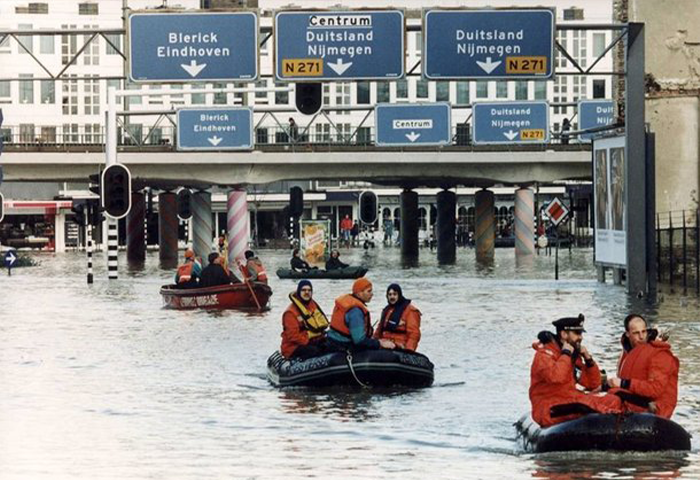 Watersnoodramp Venlo 1993