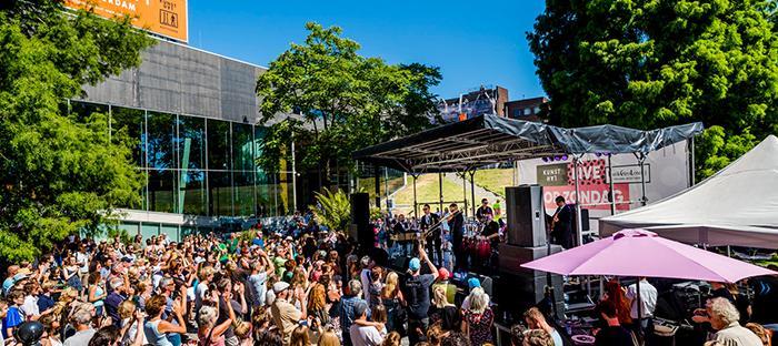 Kunsthal Live op Zondag, 5 augustus 2018, foto Marco De Swart